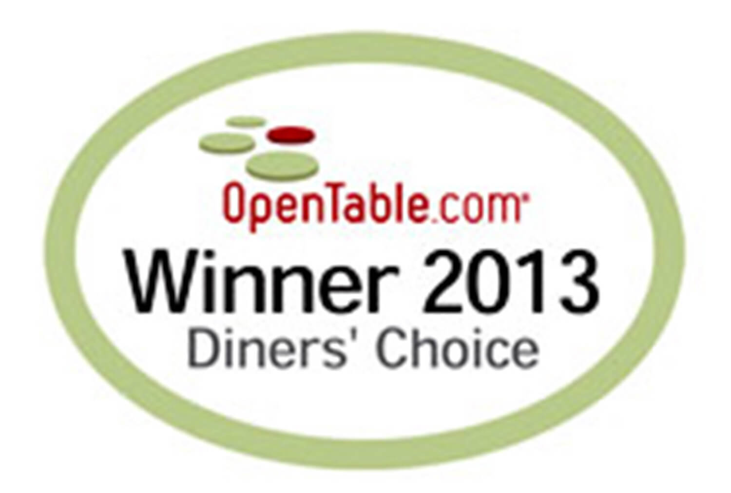 2013 Winner Diner's Choice, OpenTable | Westgate Park City Resort & Spa | Westgate Resorts