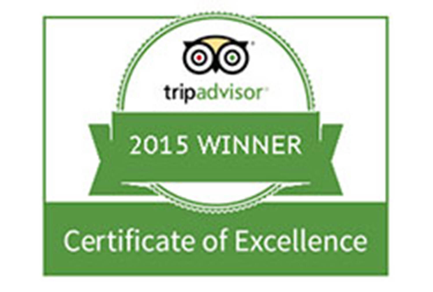 2015 TripAdvisor Certificate of Excellence | Westgate Flamingo Bay Resort | Westgate Resorts in Las Vegas NV