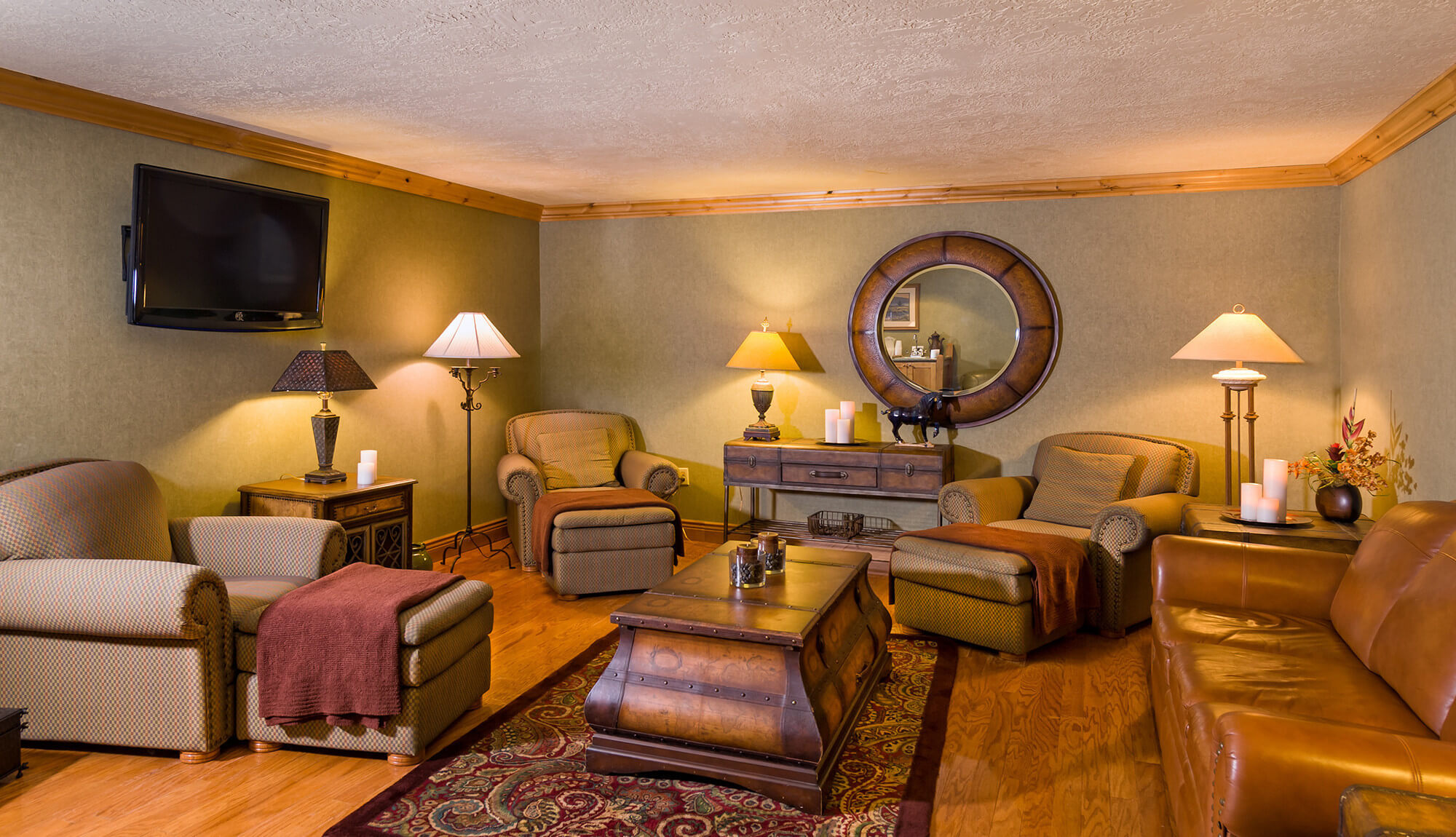 Lounge area at Serenity Spa | Westgate Park City Resort & Spa
