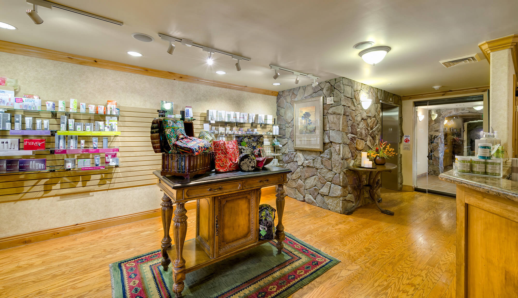 Spa products available for sale at Serenity Spa | Westgate Park City Resort & Spa