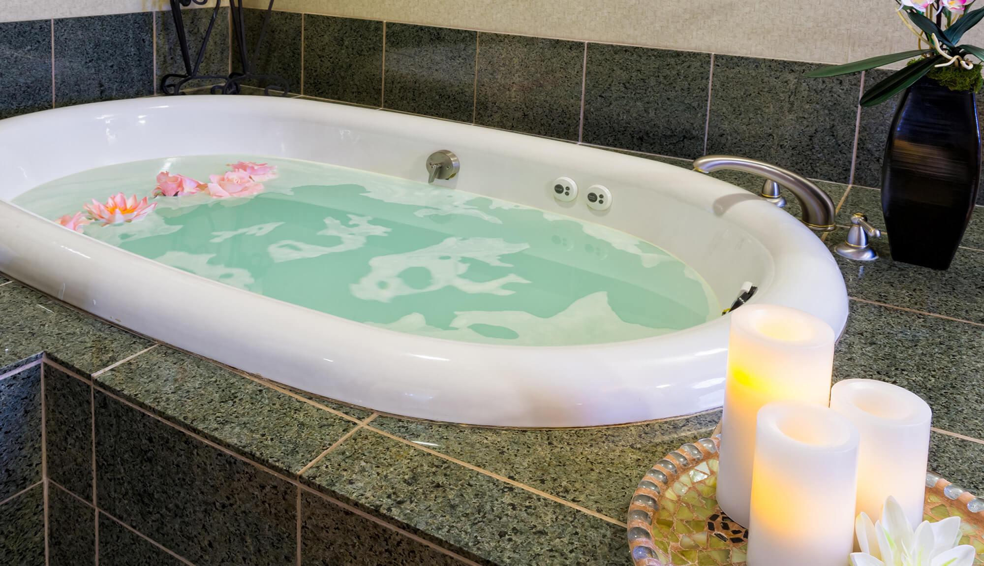 Soothing bath at Serenity Spa | Westgate Park City Resort & Spa