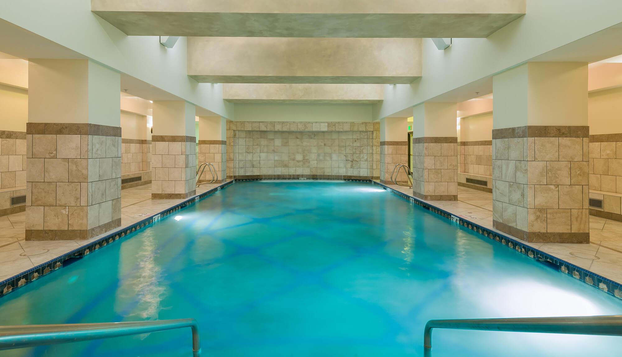 Indoor pool at Serenity Spa | Westgate Park City Resort & Spa