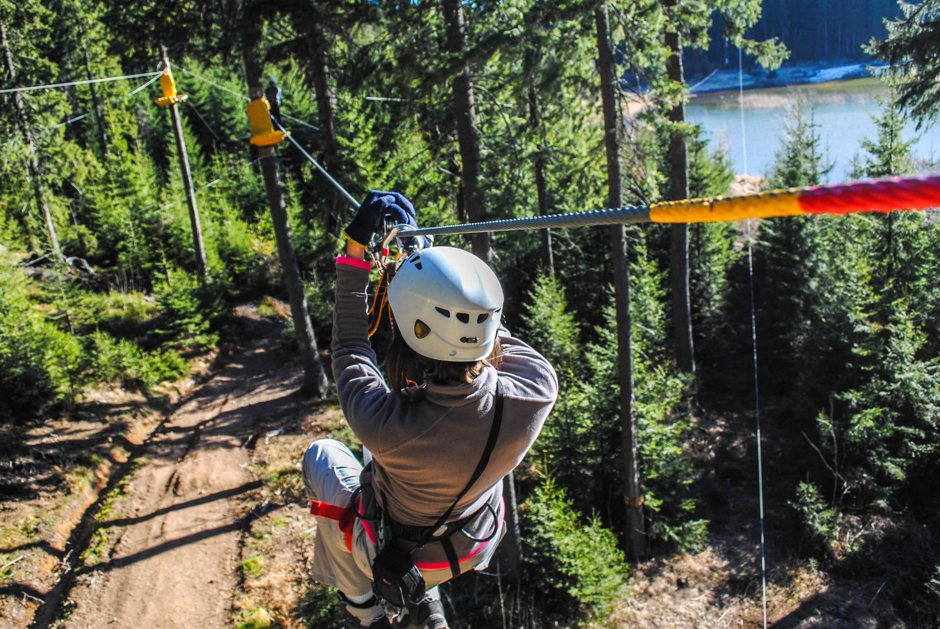 Zip-Lining at our Park City Utah Ski Resorts | Park City Utah Resort & Spa | Westgate Resorts