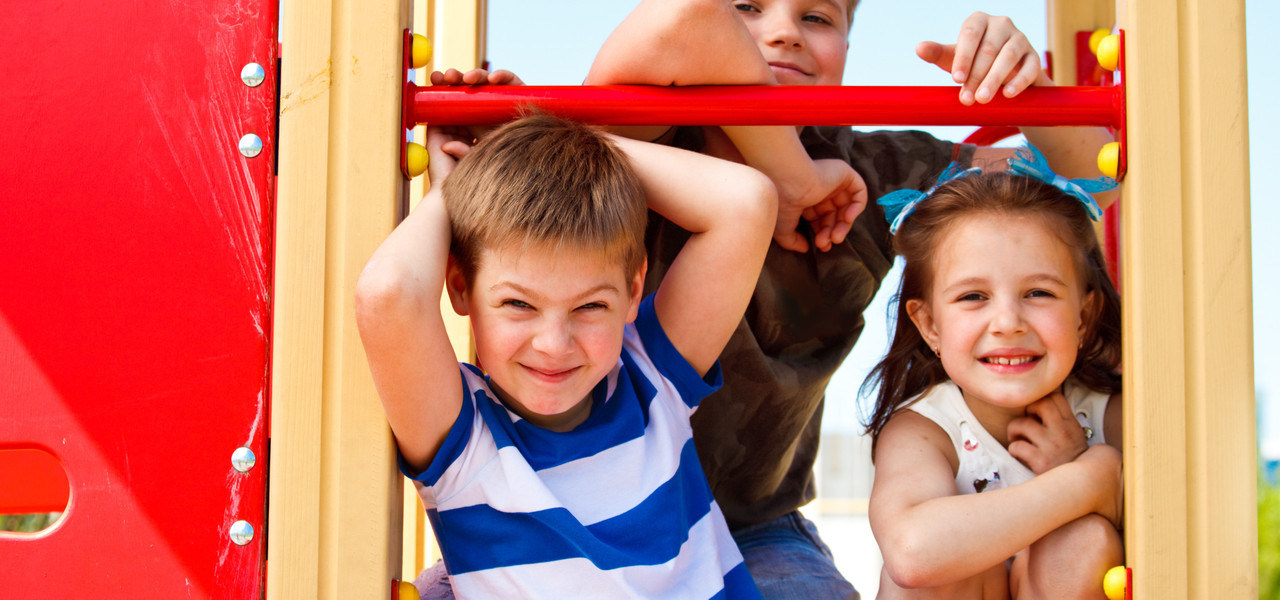 Kids on playground at the Kissimmee Resort | Westgate Town Center Resort & Spa | Westgate Resorts