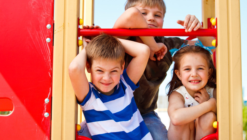 Kids on playground at the Kissimmee Resort | Westgate Town Center Resort & Spa | Westgate Resorts