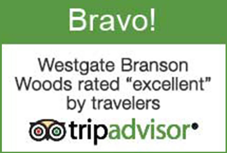 2015 TripAdvisor BRAVO Badge | Westgate Branson Woods Resort | Westgate Resort Awards