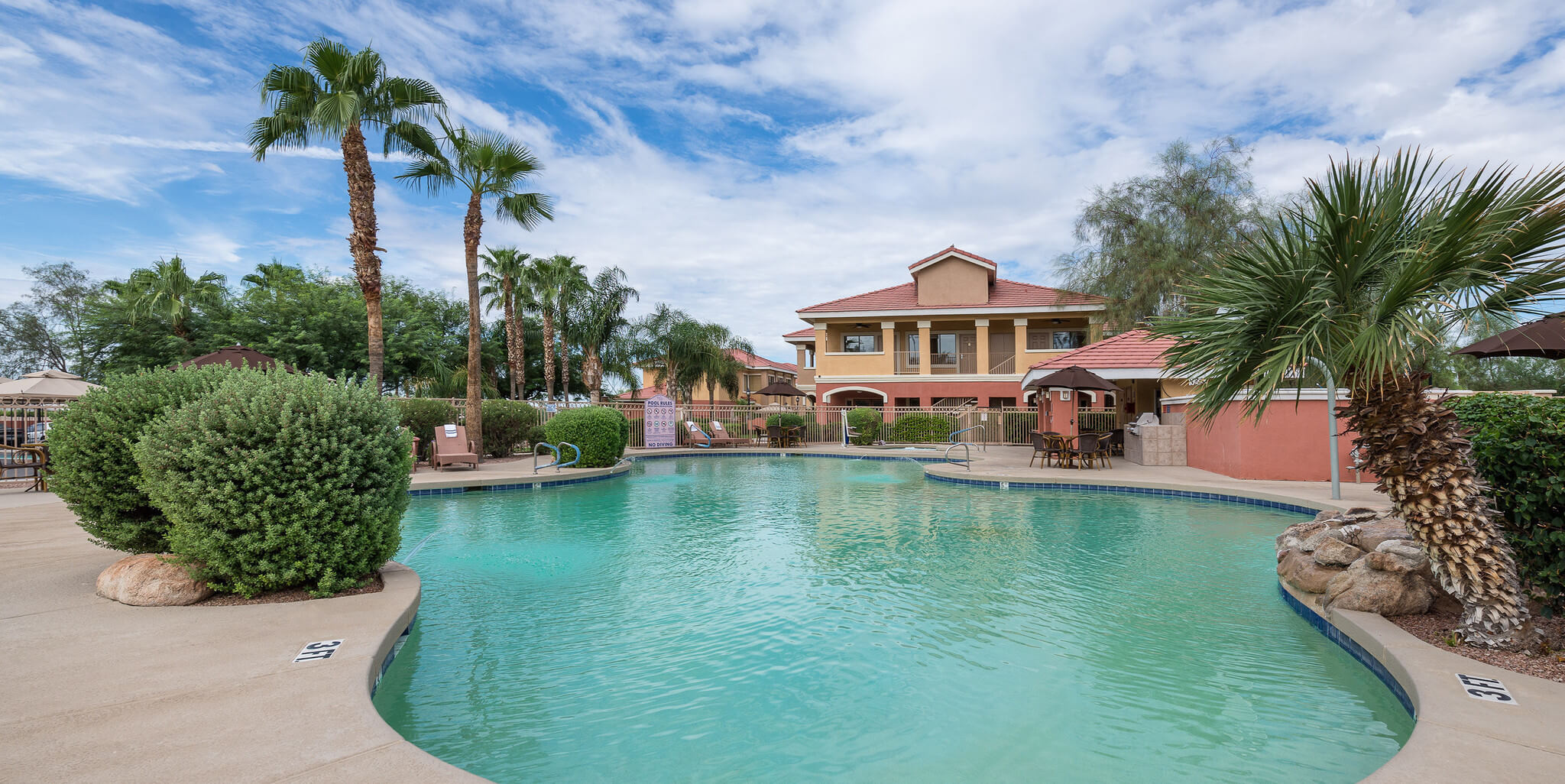 Heated Outdoor Pool Onsite At The Best Arizona Golf Resort Mesa Has To Offer Westgate