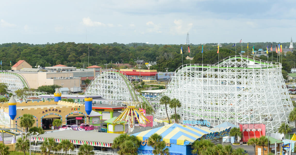 Things To Do At Myrtle Beach Sc Amut Park Westgate Oceanfront Resort
