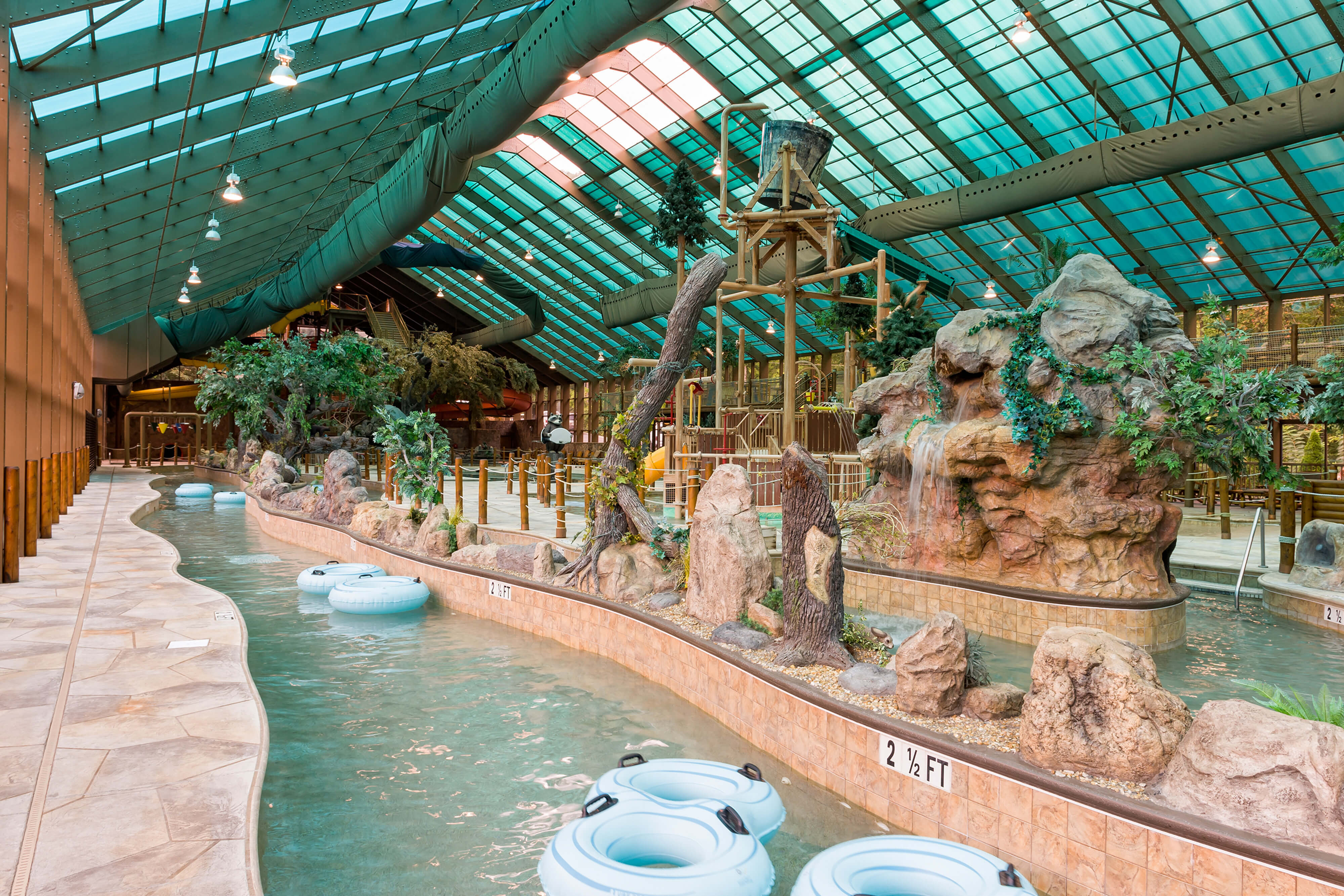 Lazy River at our Indoor Water Park Resorts | Tennessee Resorts | Westgate Smoky Mountains Resort & Spa