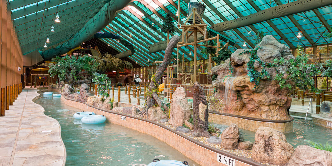 Lazy River At Our Indoor Water Park Resorts Tennessee Westgate Smoky Mountains Resort