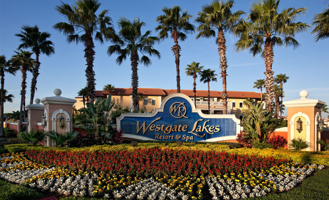 Entrance of our Hotel With Military Hotel Discounts | Orlando Military Discounts | Westgate Lakes Resort & Spa