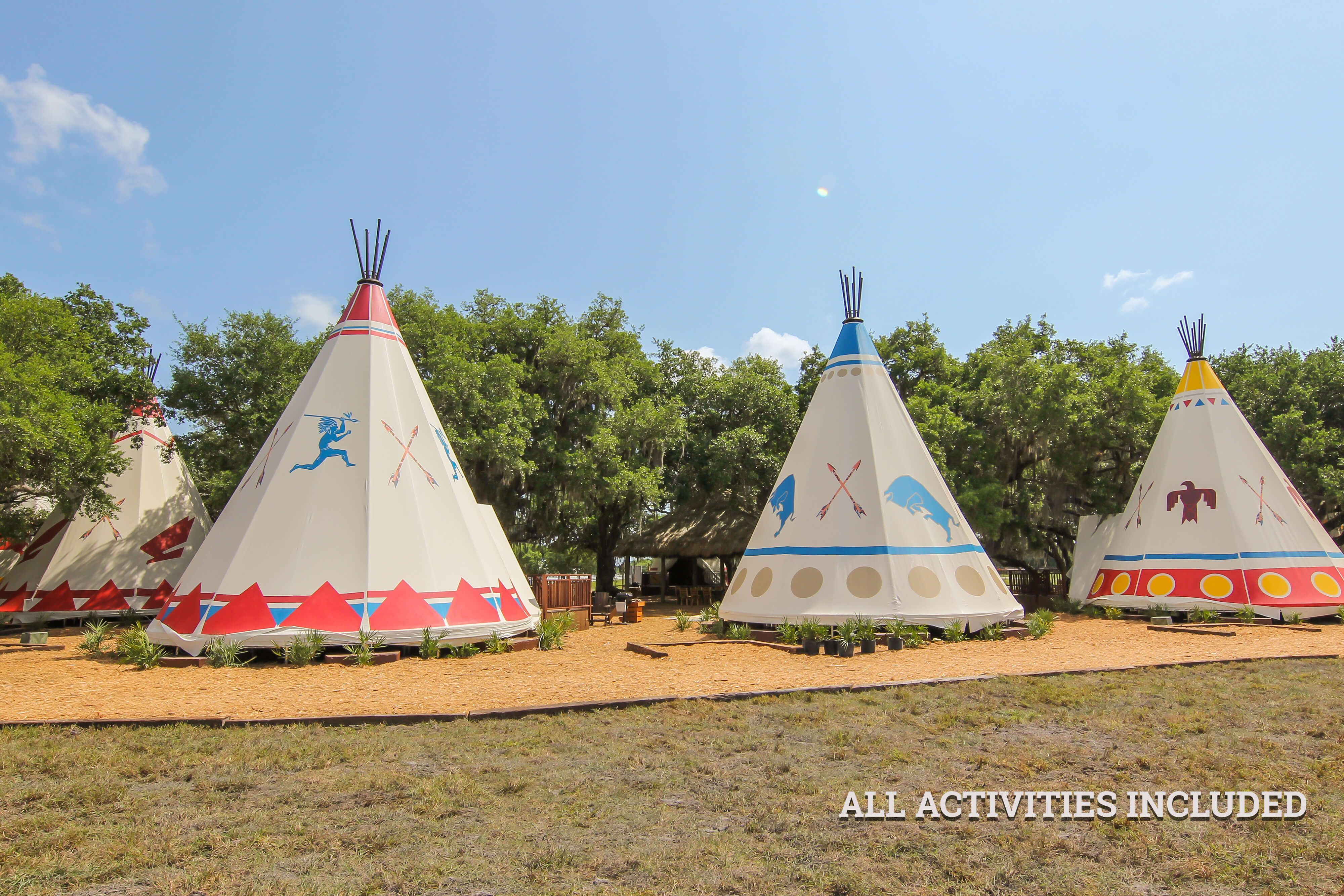 Luxe Teepee Room for Glamping |  Westgate River Ranch Resort & Rodeo | Westgate Resorts