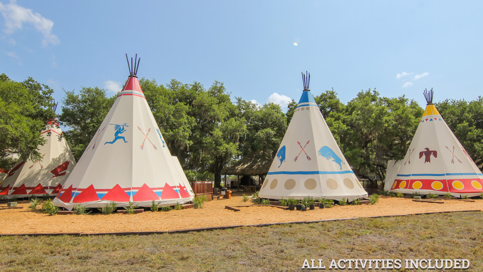 Luxe Teepee Westgate River Ranch Resort Amp Rodeo In River