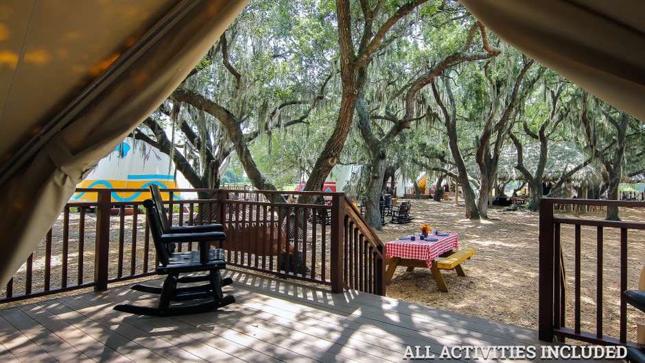 View From Luxe Teepees |  Westgate River Ranch Resort & Rodeo | Westgate Resorts