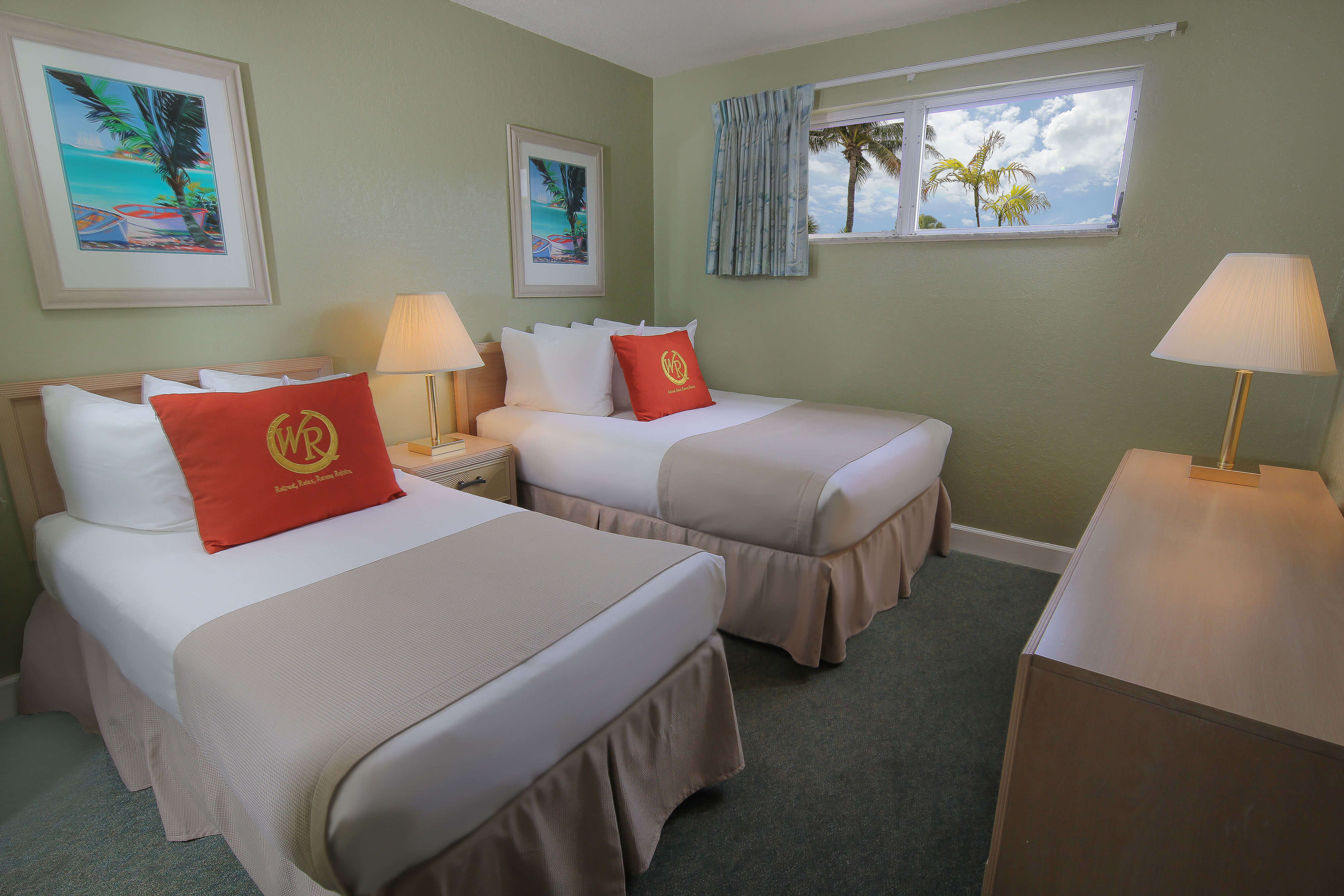 Beds in Two Bedroom Beachside Villa in our 2 Bedroom Suites in Cocoa Beach | Wakulla Suites A Westgate Resort | Westgate Resorts