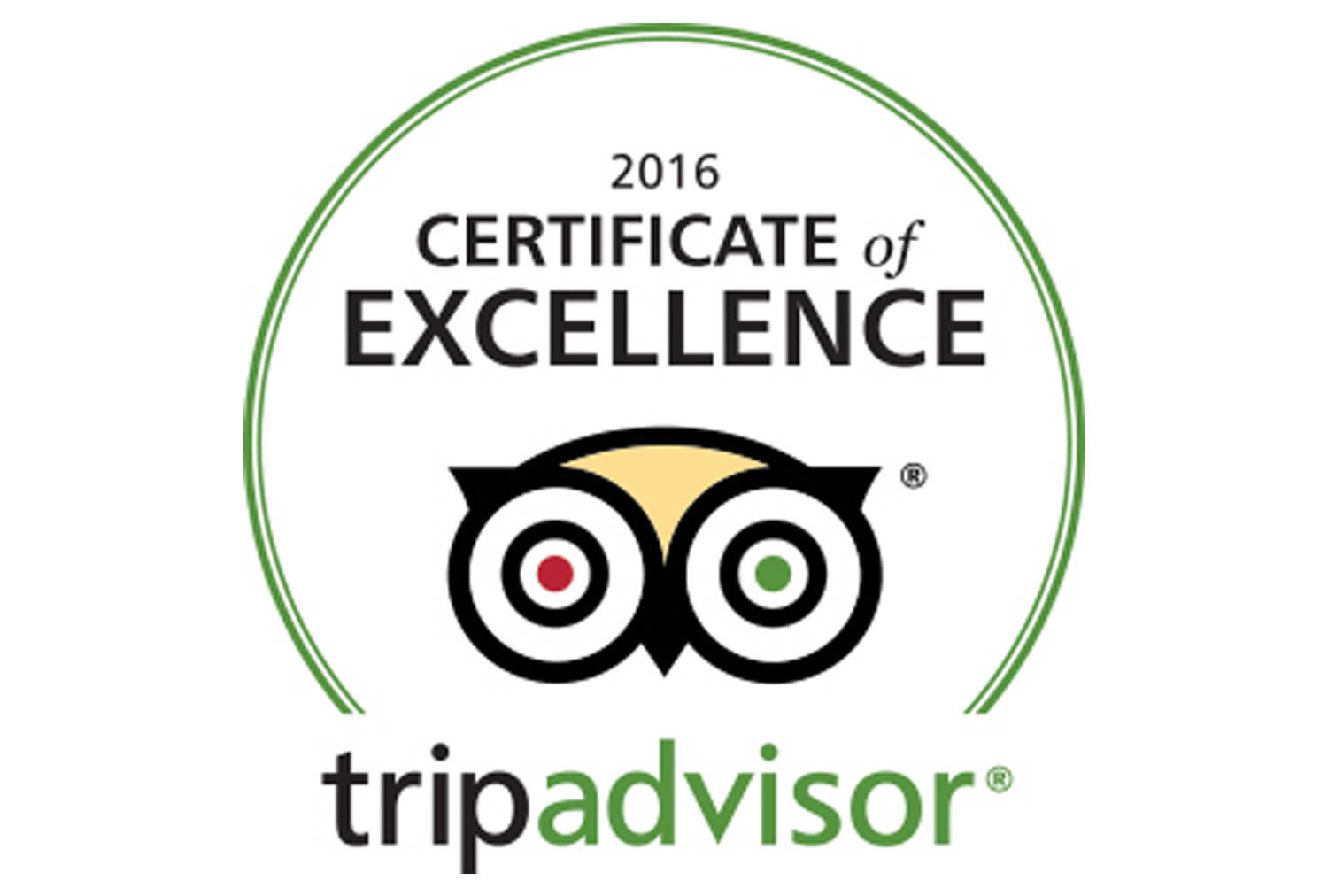 2016 TripAdvisor Certificate of Excellence | Westgate Park City Resort & Spa | Westgate Resorts