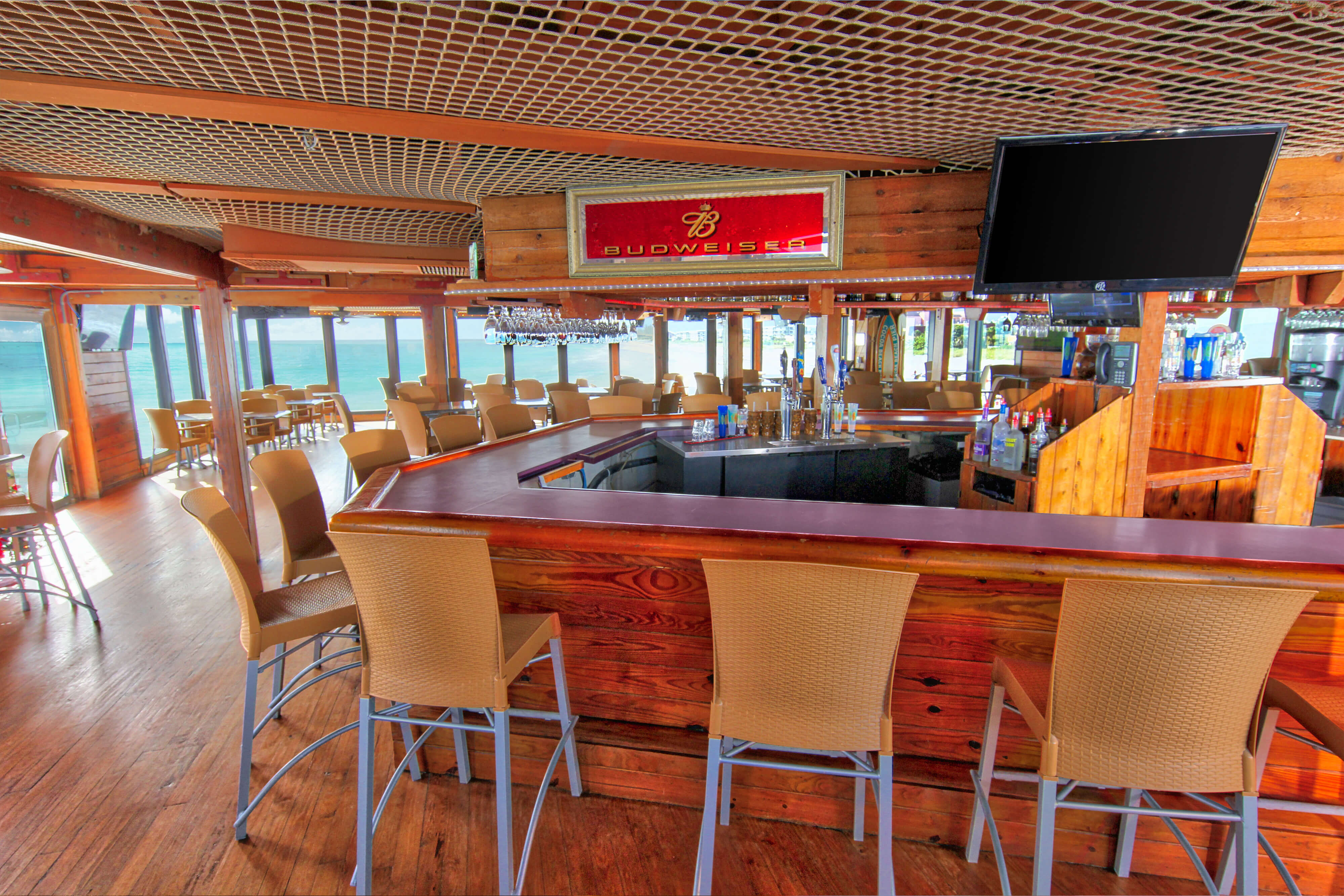 Pelican's Bar & Grill Cocoa Beach Pier near our Cocoa Beach Oceanfront Hotels | Wakulla Suites A Westgate Resort | Westgate Cocoa Beach Resorts
