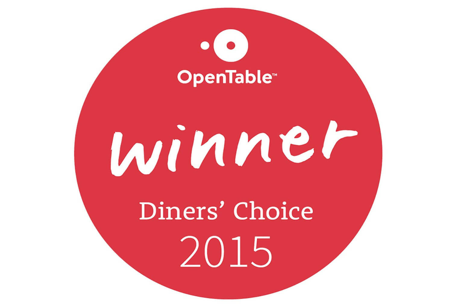 2015 Open Table Award | Westgate Park City Resort & Spa | Westgate Resorts