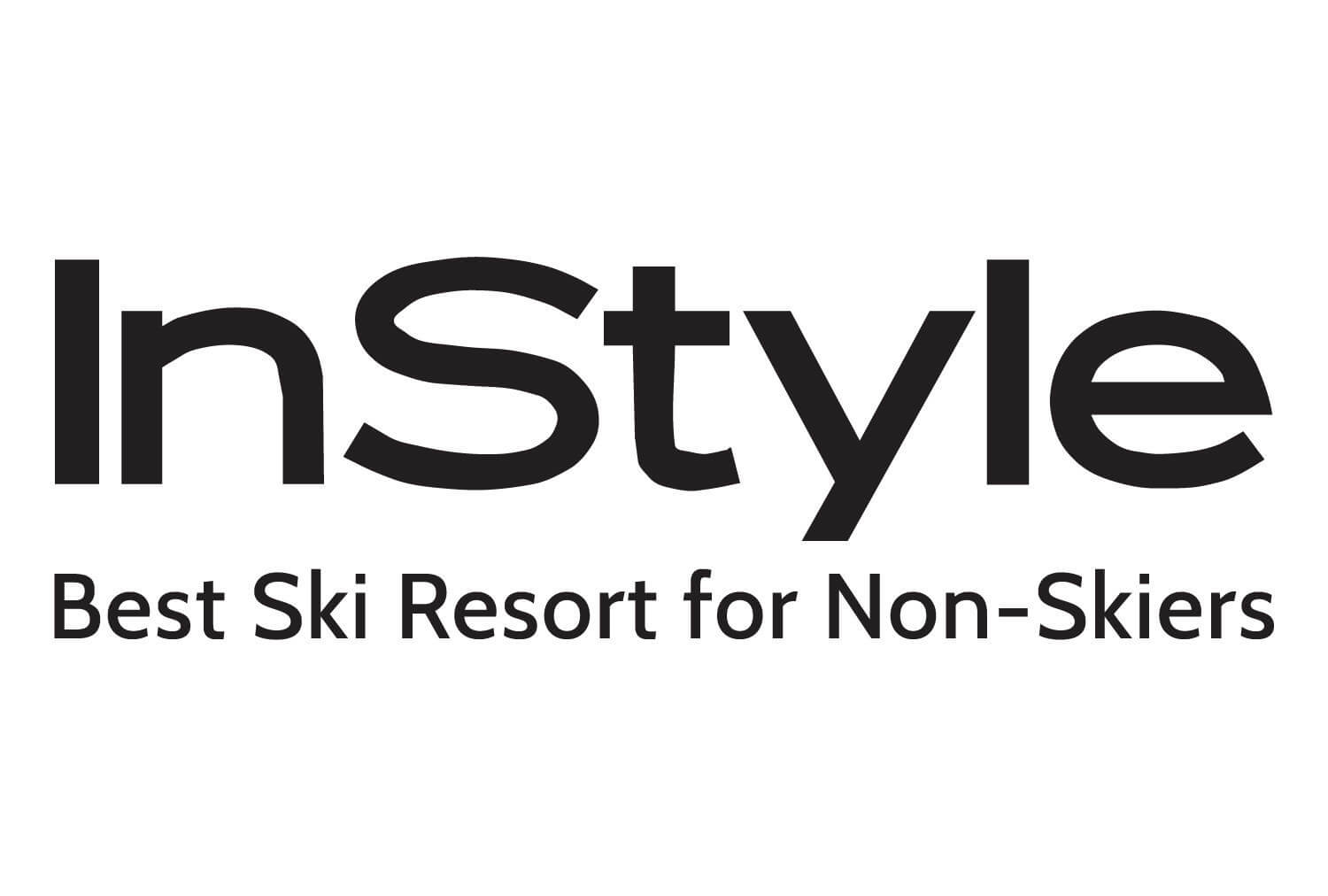 2017 Instyle Award Magazine Best Ski Resort for Non Skiers | Westgate Park City Resort & Spa in Utah