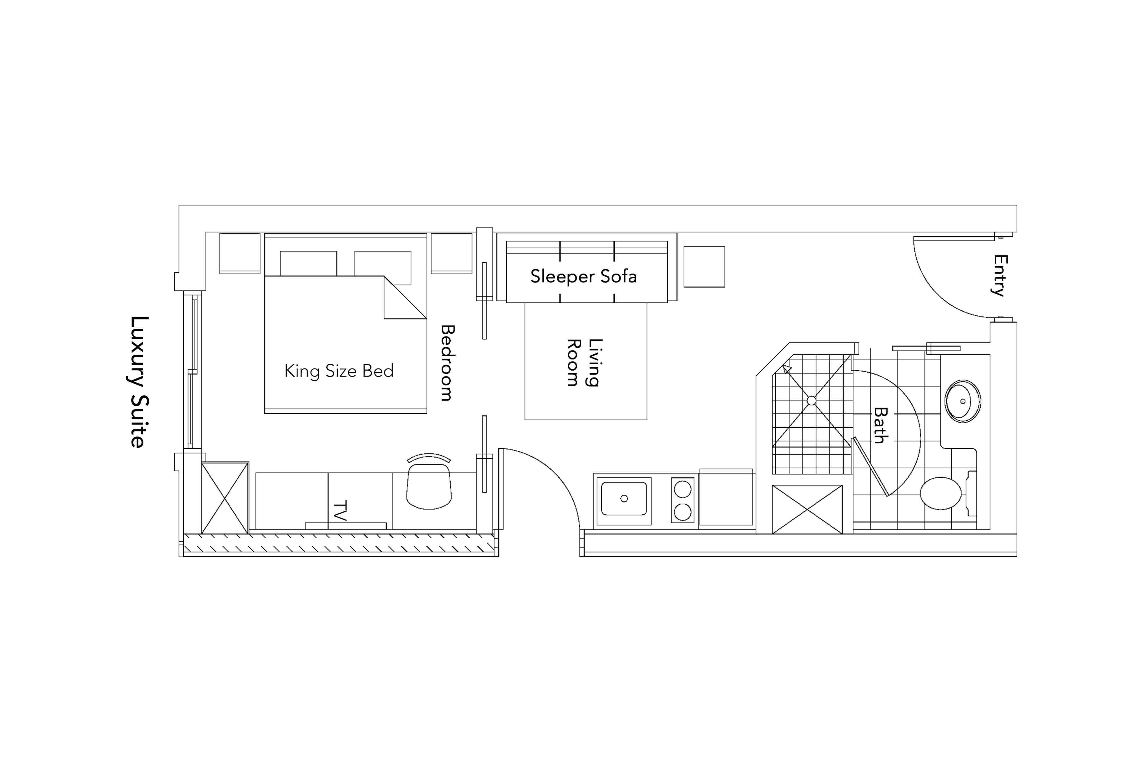 Luxury Suite Floorplan of our Park City Resort in Utah | Westgate Park City Resort & Spa | Westgate Resorts