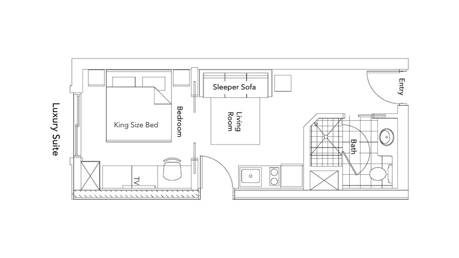 Luxury Suite Floorplan of our Park City Resort in Utah | Westgate Park City Resort & Spa | Westgate Resorts