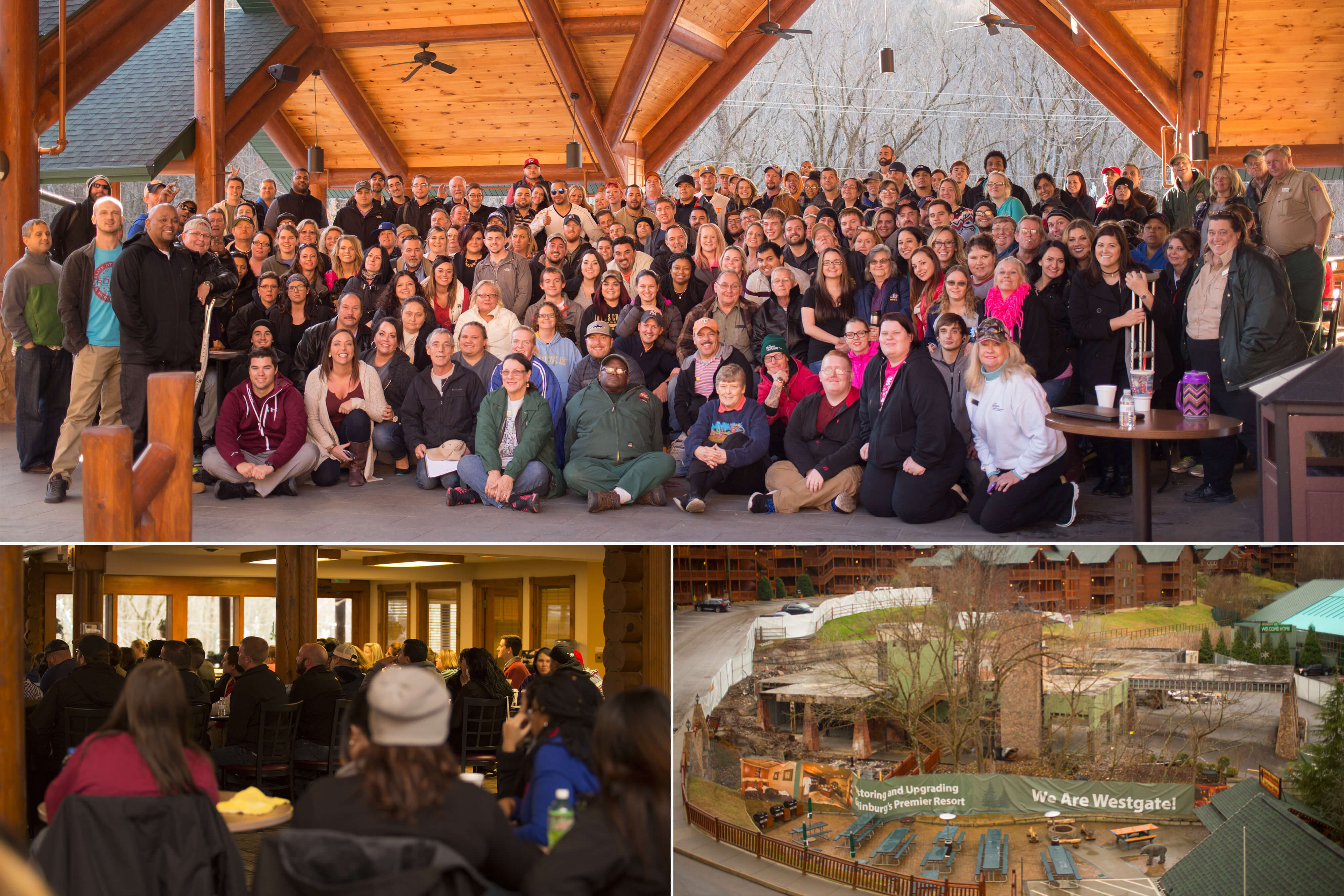 Team at Smoky Mountain Tennessee resorts in Gatlinburg TN | Westgate Smoky Mountain Resort & Spa | Westgate Resorts