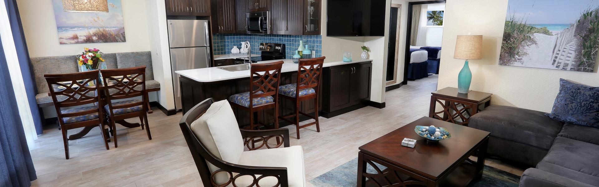 Signature Two Bedroom Suites in Cocoa Beach FL | Westgate Cocoa Beach Resort