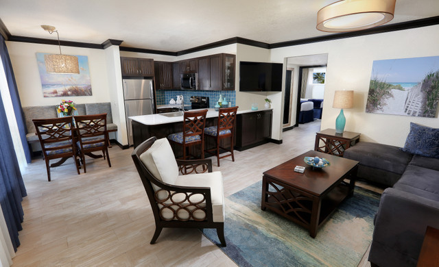 state-of-the-art villas with fully equipped kitchens at Cocoa Beach FL