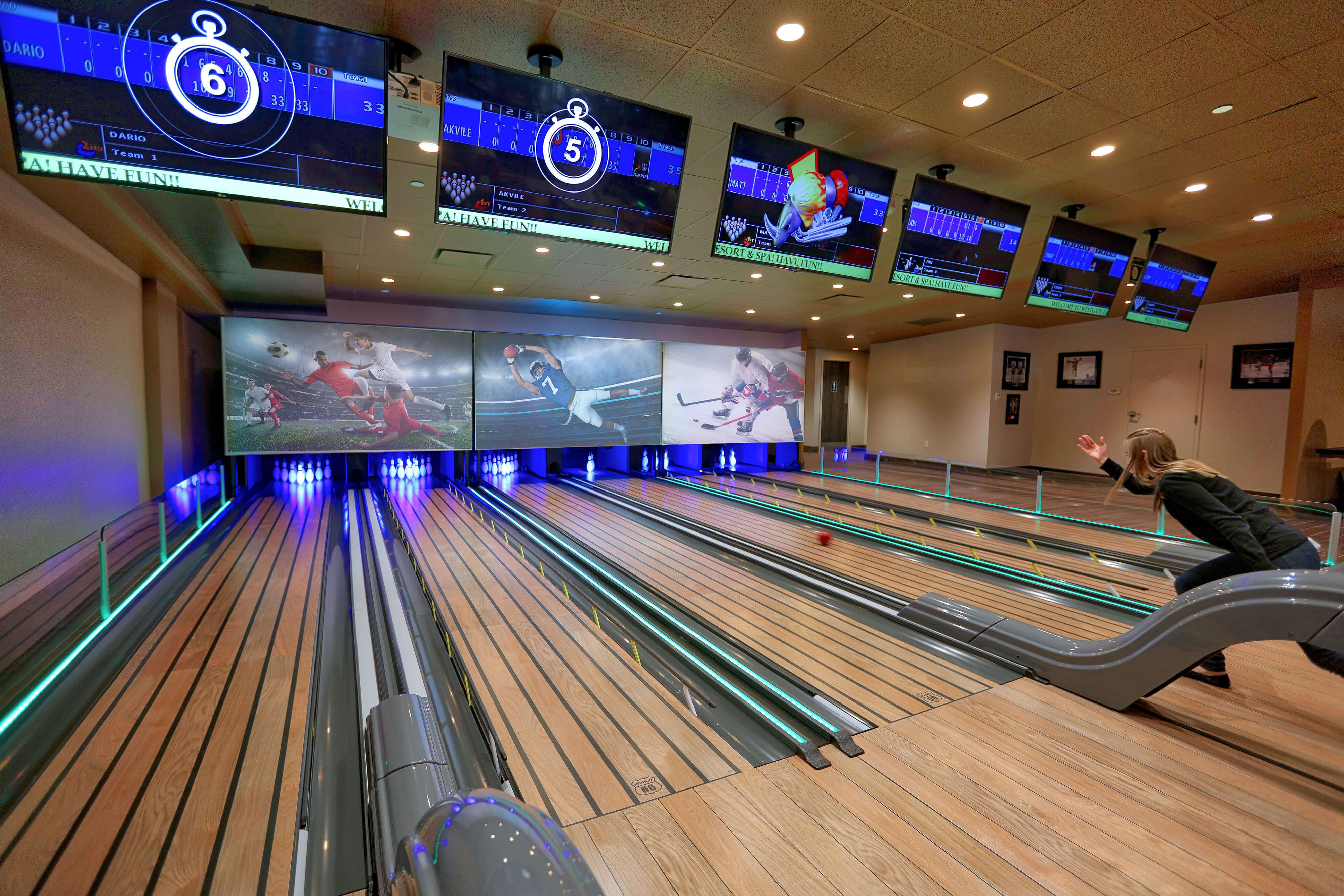 Bowling Alley | Westgate Lakes Resort & Spa | Orlando, FL | Westgate Resorts
