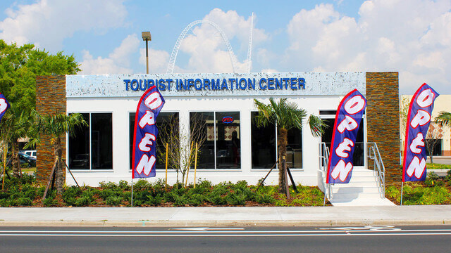 International Drive Orlando Theme Park and Tourism Welcome Center