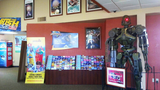 Inside an Orlando Tourism Welcome Center